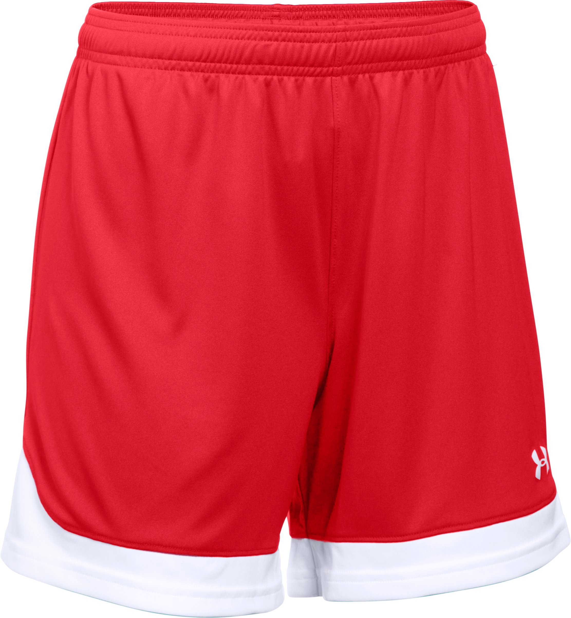Women's UA Maquina Shorts, Red, undefined