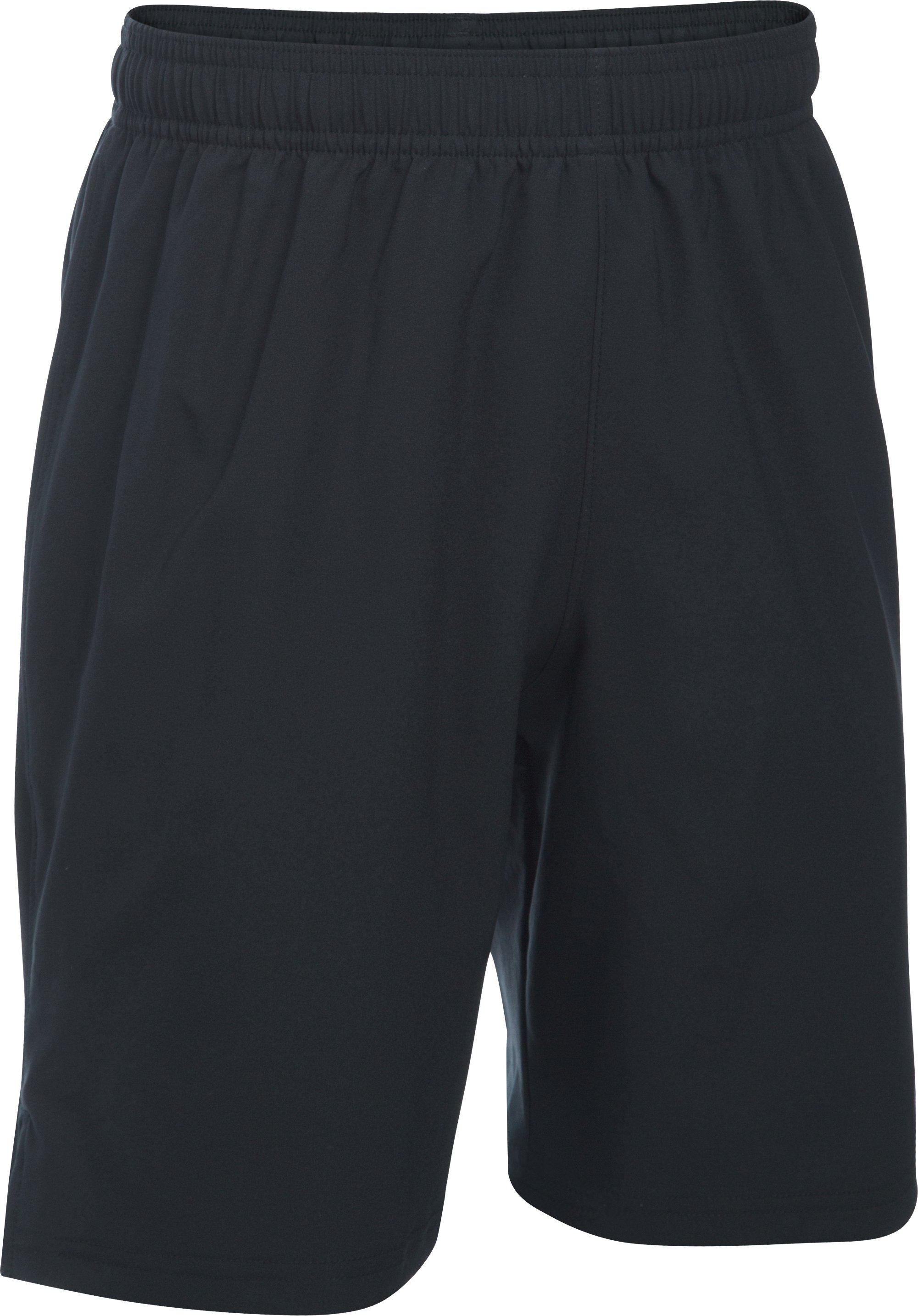 Boys' UA Hustle Shorts, Black