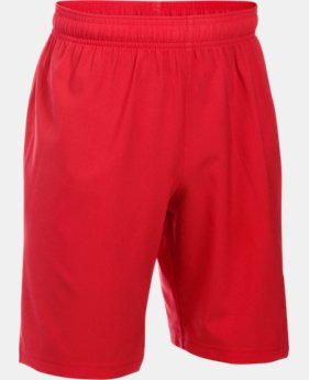New Arrival Boys' UA Hustle Shorts  1 Color $24.99