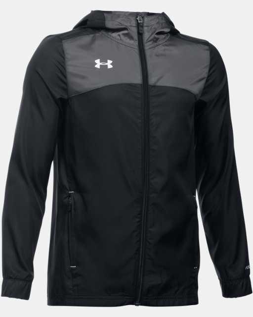 Boys' UA Futbolista Shell Jacket