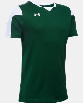 Boys' UA Maquina Soccer Jersey  1  Color Available $24.99