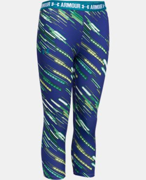 Girls' UA HeatGear® Armour Printed Capri LIMITED TIME: UP TO 30% OFF 3 Colors $15.74 to $26.99