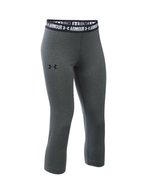 572790095a This review is fromGirls  UA HeatGear® Armour Solid Capris.
