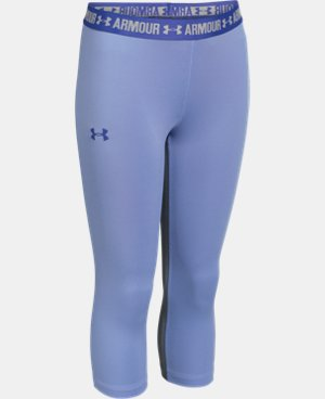 Girls' UA HeatGear® Armour Solid Capri  1 Color $20.24
