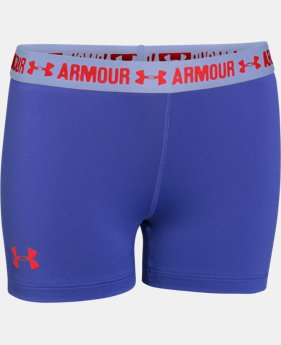 "Girls' UA HeatGear® Armour 3"" Shorty LIMITED TIME: FREE U.S. SHIPPING  $11.24 to $14.99"