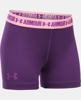 "Girls' UA HeatGear® Armour 3"" Shorty   $17.24"