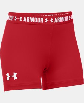 "Girls' UA HeatGear® Armour 3"" Shorty LIMITED TIME: FREE U.S. SHIPPING 1 Color $11.24 to $14.99"