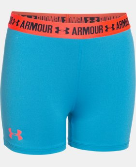 "Girls' UA HeatGear® Armour 3"" Shorty  1 Color $17.99"