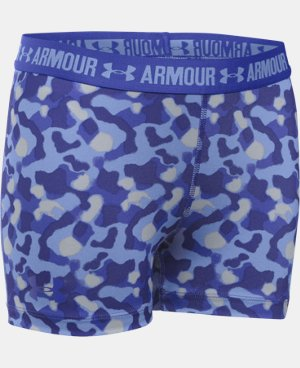 "Girls' UA HeatGear® Armour Printed 3"" Shorty LIMITED TIME: FREE U.S. SHIPPING 3 Colors $11.24 to $18.99"