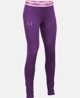 Girls' HeatGear® Armour Leggings  2 Colors $26.24