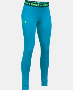 Girls' HeatGear® Armour Leggings  5 Colors $34.99