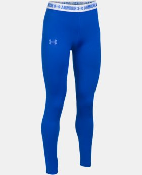 Girls' HeatGear® Armour Leggings  1 Color $34.99