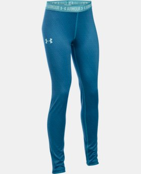 Best Seller Girls' UA HeatGear® Armour Printed Legging   $39.99