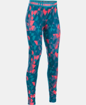 Girls' UA HeatGear® Armour Printed Legging LIMITED TIME: FREE U.S. SHIPPING 1 Color $39.99