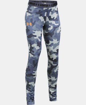Girls' UA HeatGear® Armour Printed Leggings  1 Color $29.99