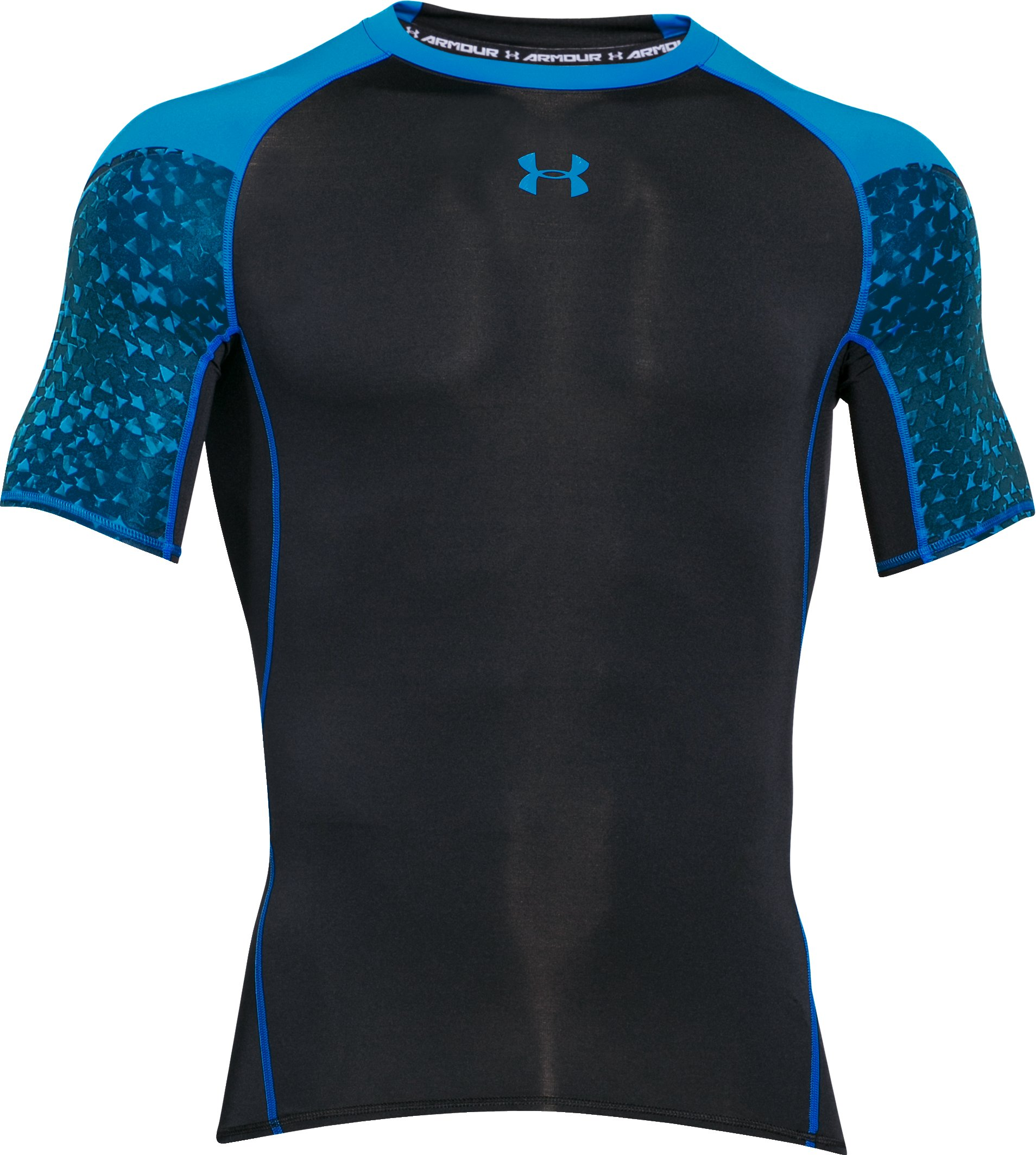Men's UA HeatGear® Armour Scope Short Sleeve Compression Shirt, Black ,