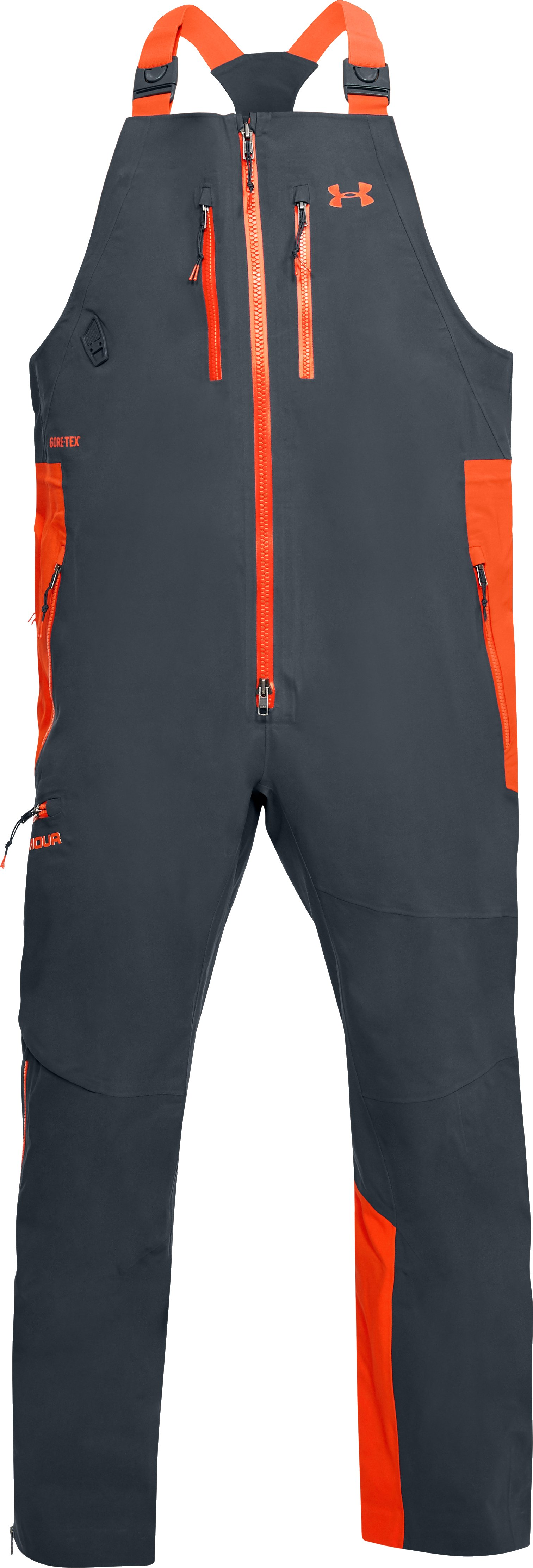Men's UA Ridge Reaper® Gore-Tex® Bib, STEALTH GRAY,