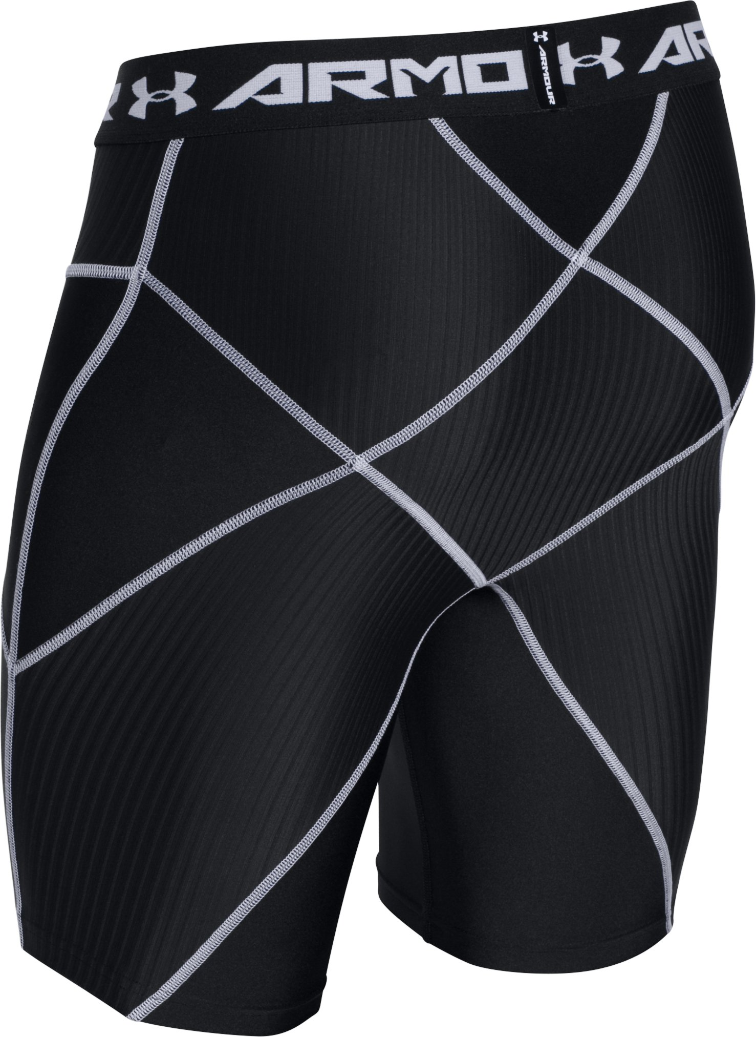 Men's UA HeatGear® Armour Compression Coreshorts, Black ,
