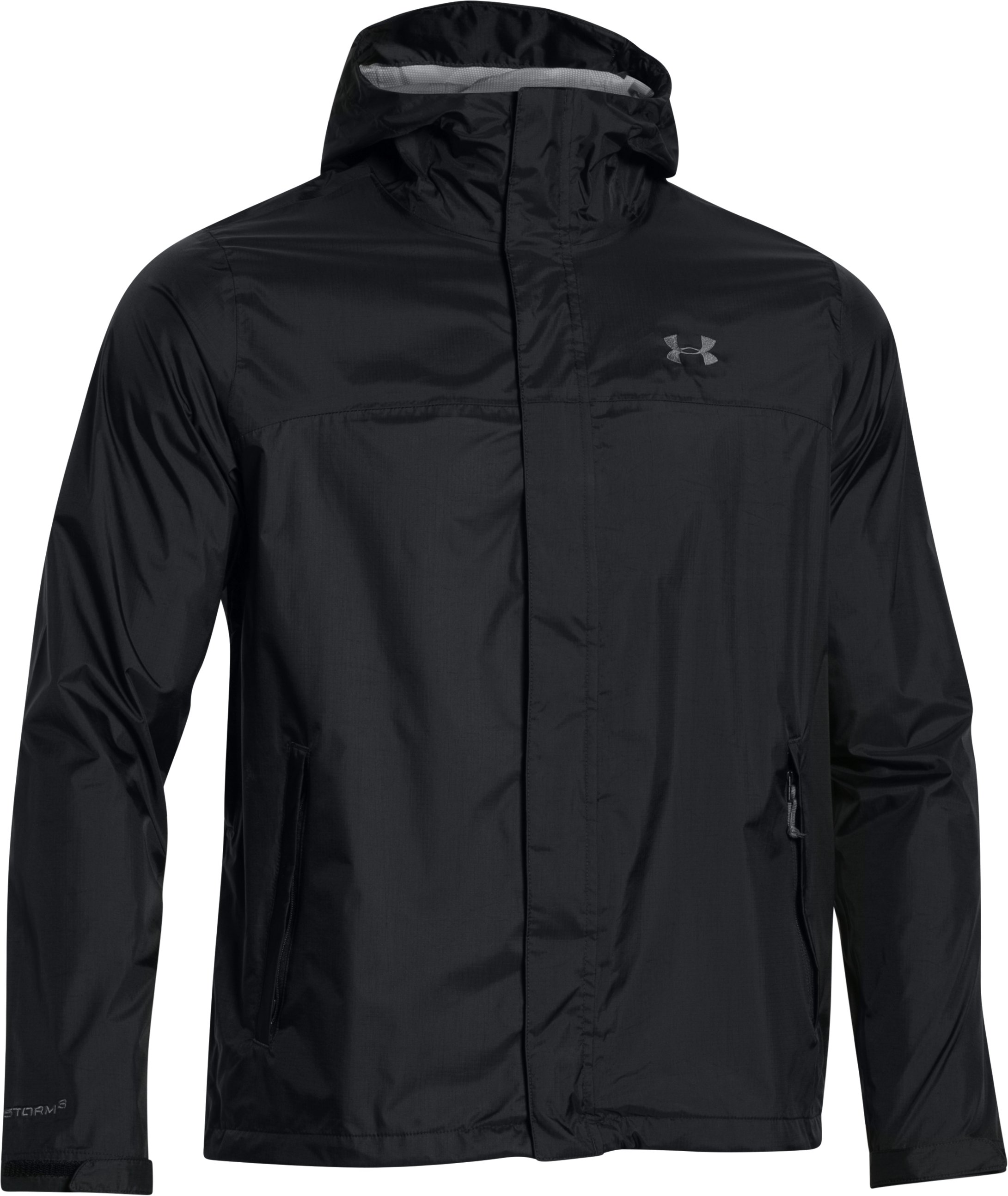 Men's UA Surge Jacket, Black ,
