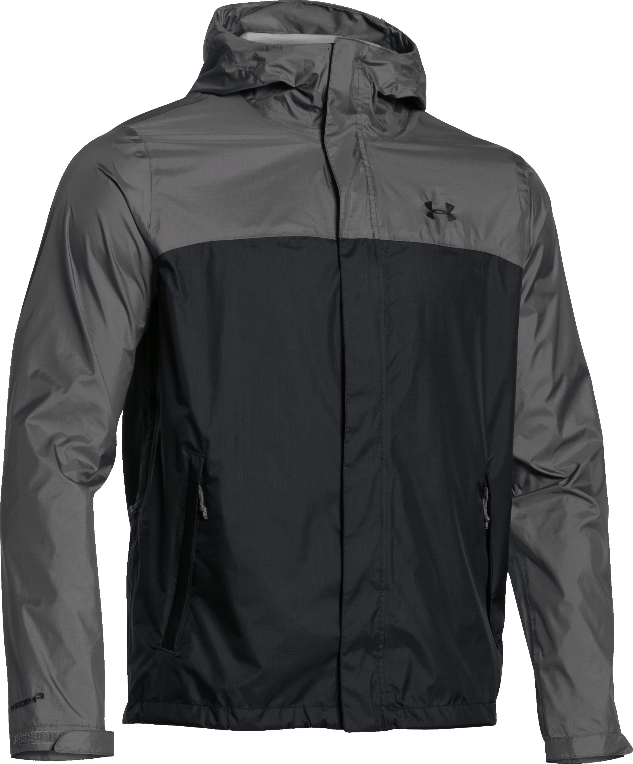 Men's UA Surge Jacket, GRANITE,