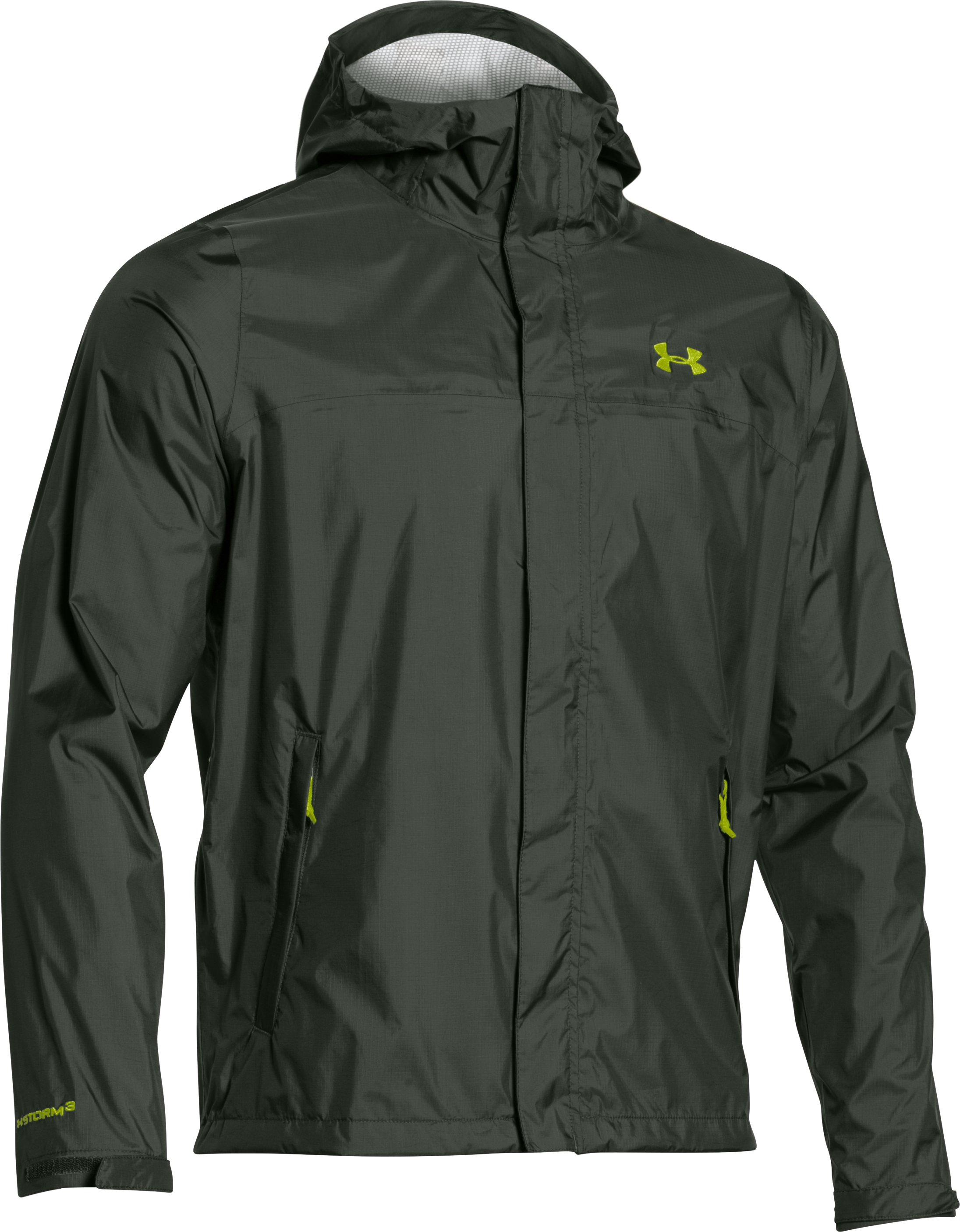 Men's UA Surge Jacket, COMBAT GREEN, undefined