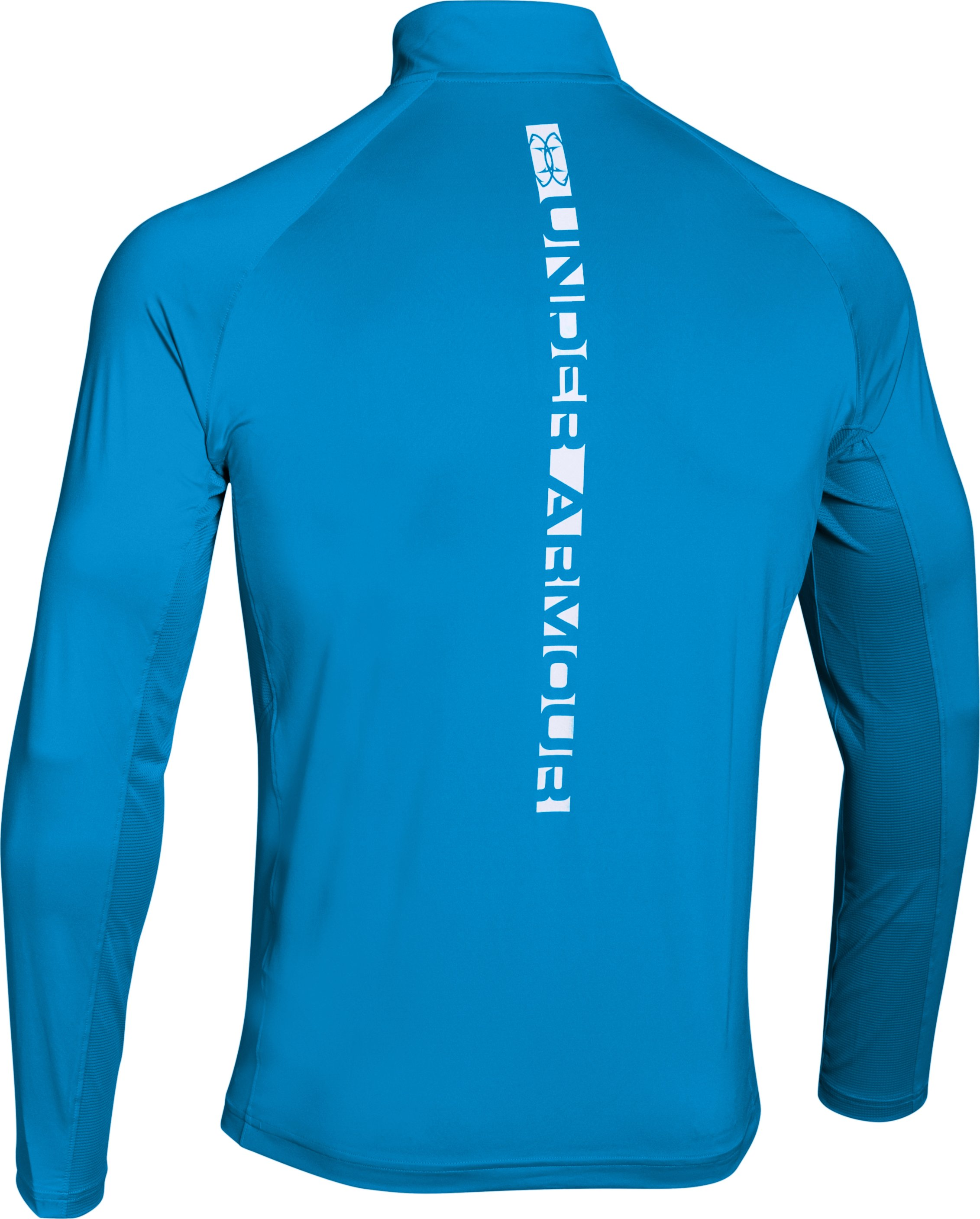 Men's UA CoolSwitch Thermocline ¼ Zip, ELECTRIC BLUE