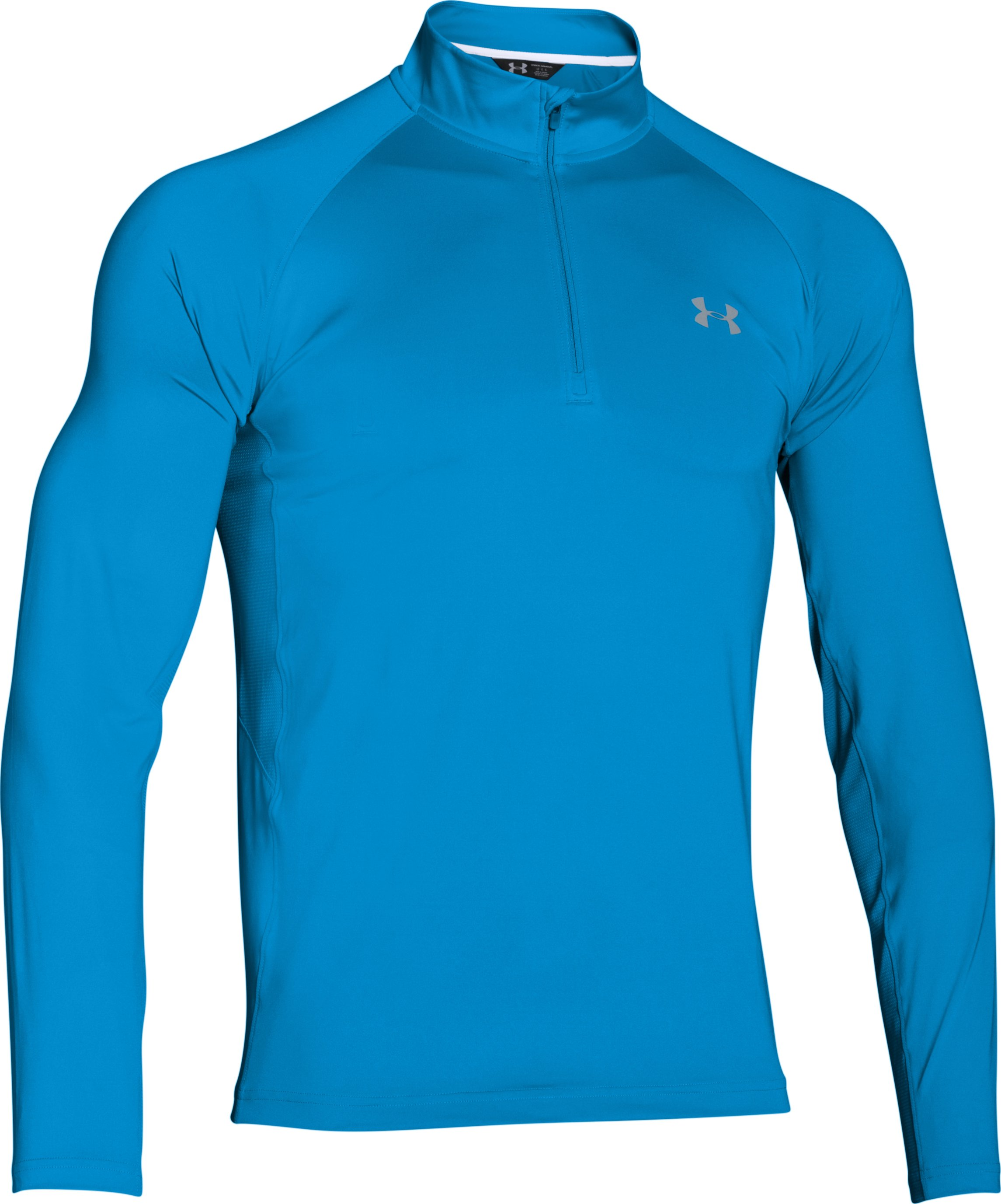 Men's UA CoolSwitch Thermocline ¼ Zip, ELECTRIC BLUE, undefined