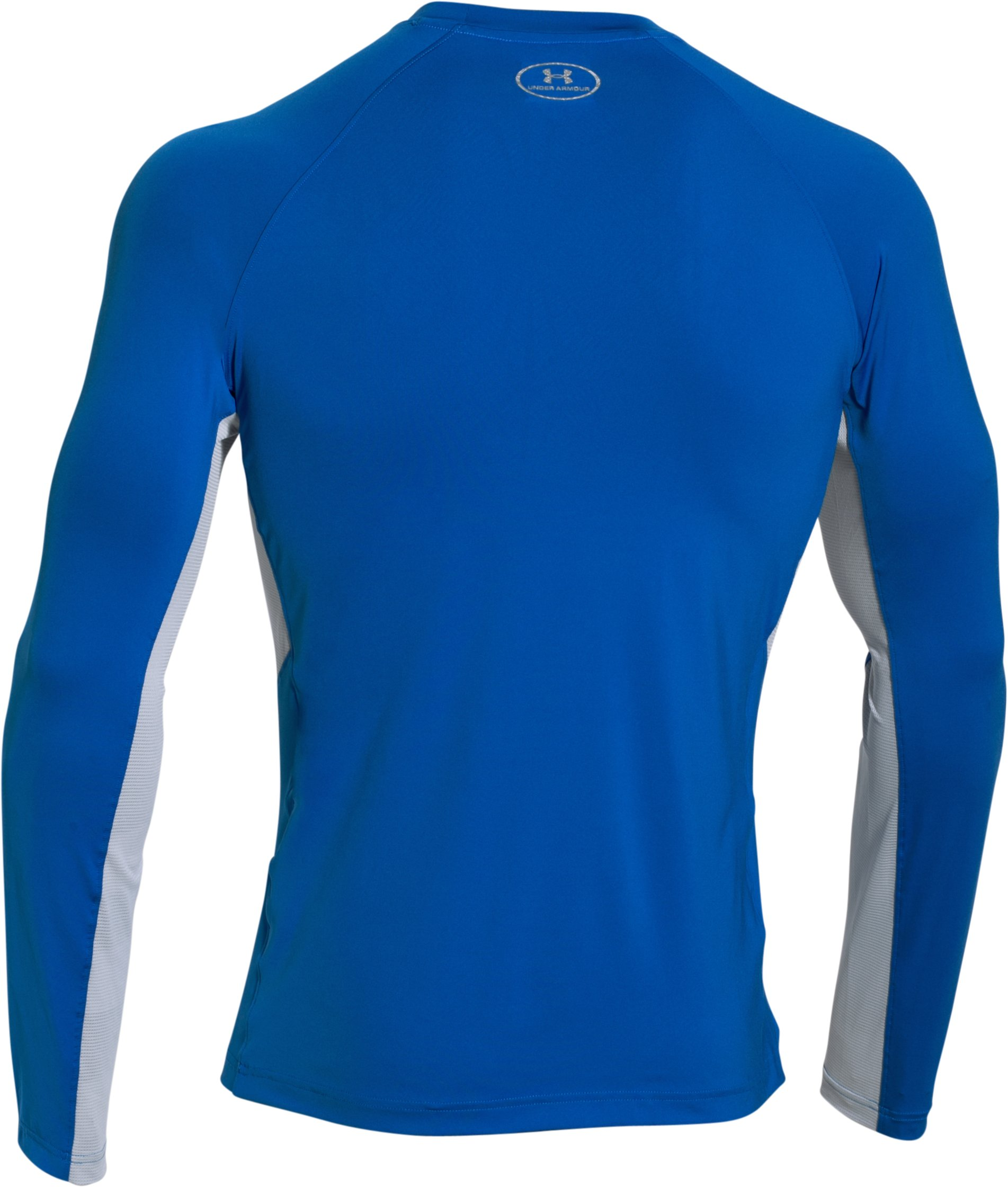 Men's UA CoolSwitch Thermocline Long Sleeve, ULTRA BLUE, undefined