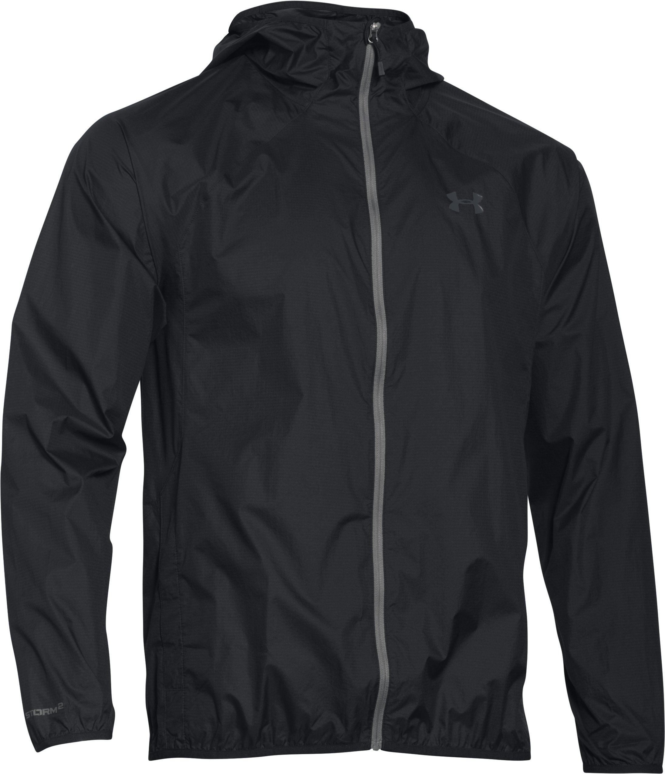 Men's UA Storm Anemo Jacket, Black , undefined