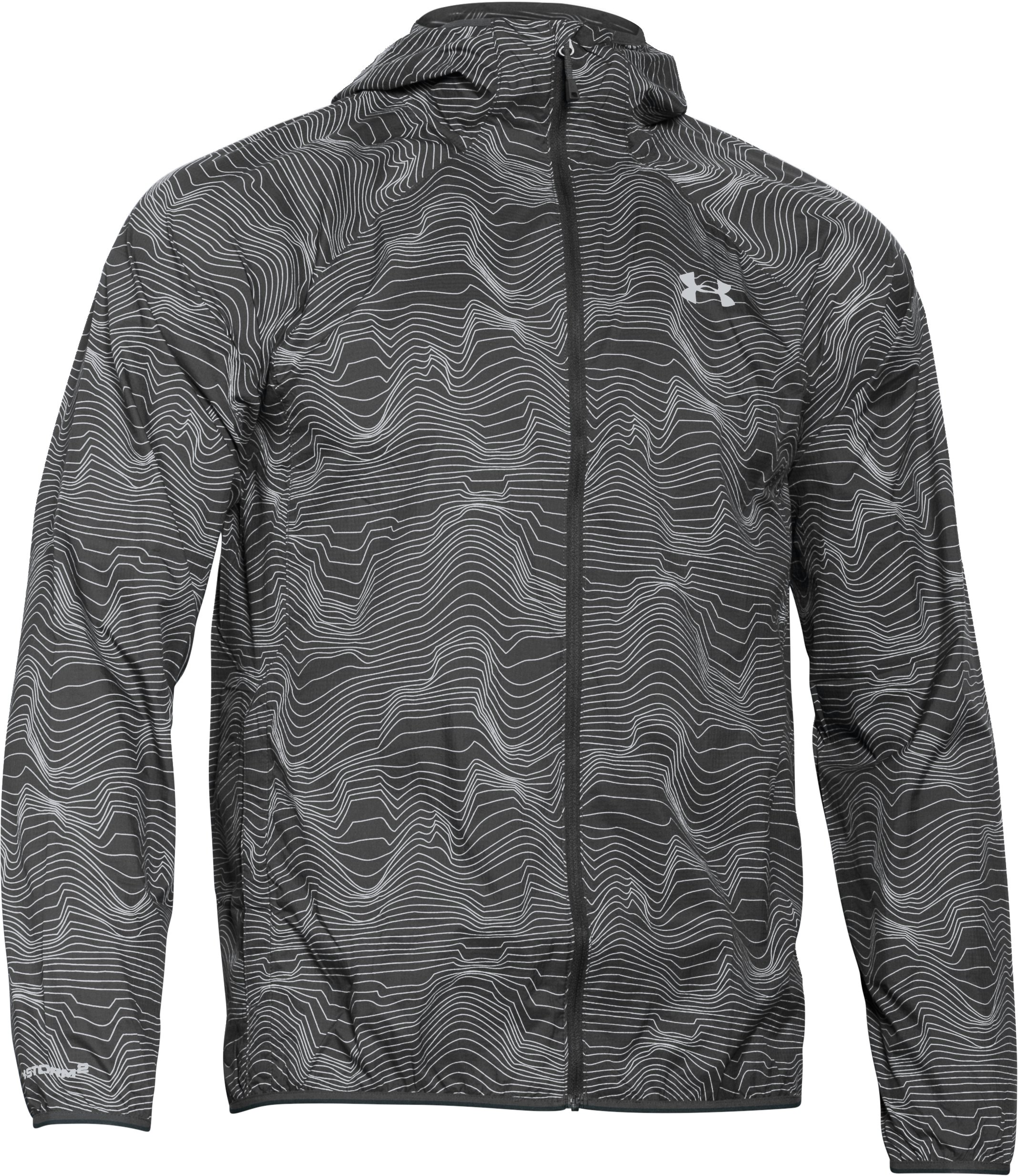 Men's UA Storm Anemo Jacket, ANTHRACITE