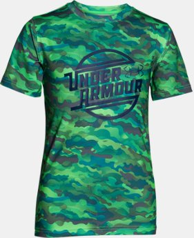 Boys' UA CoolSwitch Thermocline T-Shirt   $17.99 to $22.49