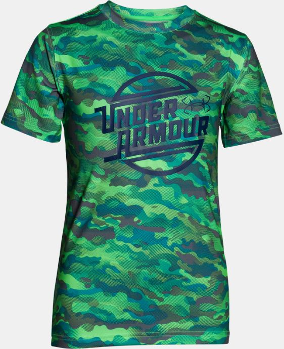Boys' UA CoolSwitch Thermocline T-Shirt   $33.99