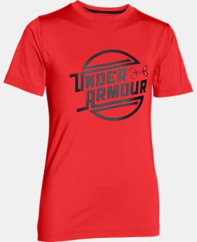 Boys' UA CoolSwitch Thermocline T-Shirt LIMITED TIME: FREE U.S. SHIPPING 1 Color $22.49 to $29.99