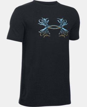 Boys' UA Antler Logo T-Shirt LIMITED TIME: FREE SHIPPING  $19.99
