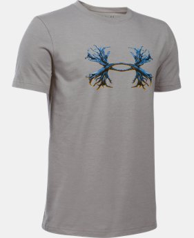 Boys' UA Antler Logo T-Shirt LIMITED TIME: FREE SHIPPING 1 Color $19.99