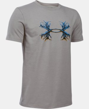 Boys' UA Antler Logo T-Shirt LIMITED TIME: FREE U.S. SHIPPING 1 Color $19.99