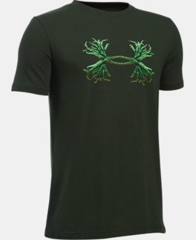Boys' UA Antler Logo T-Shirt  1 Color $19.99