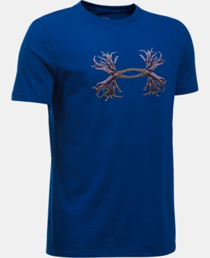 Boys' UA Antler Logo T-Shirt LIMITED TIME: FREE U.S. SHIPPING 1 Color $14.99