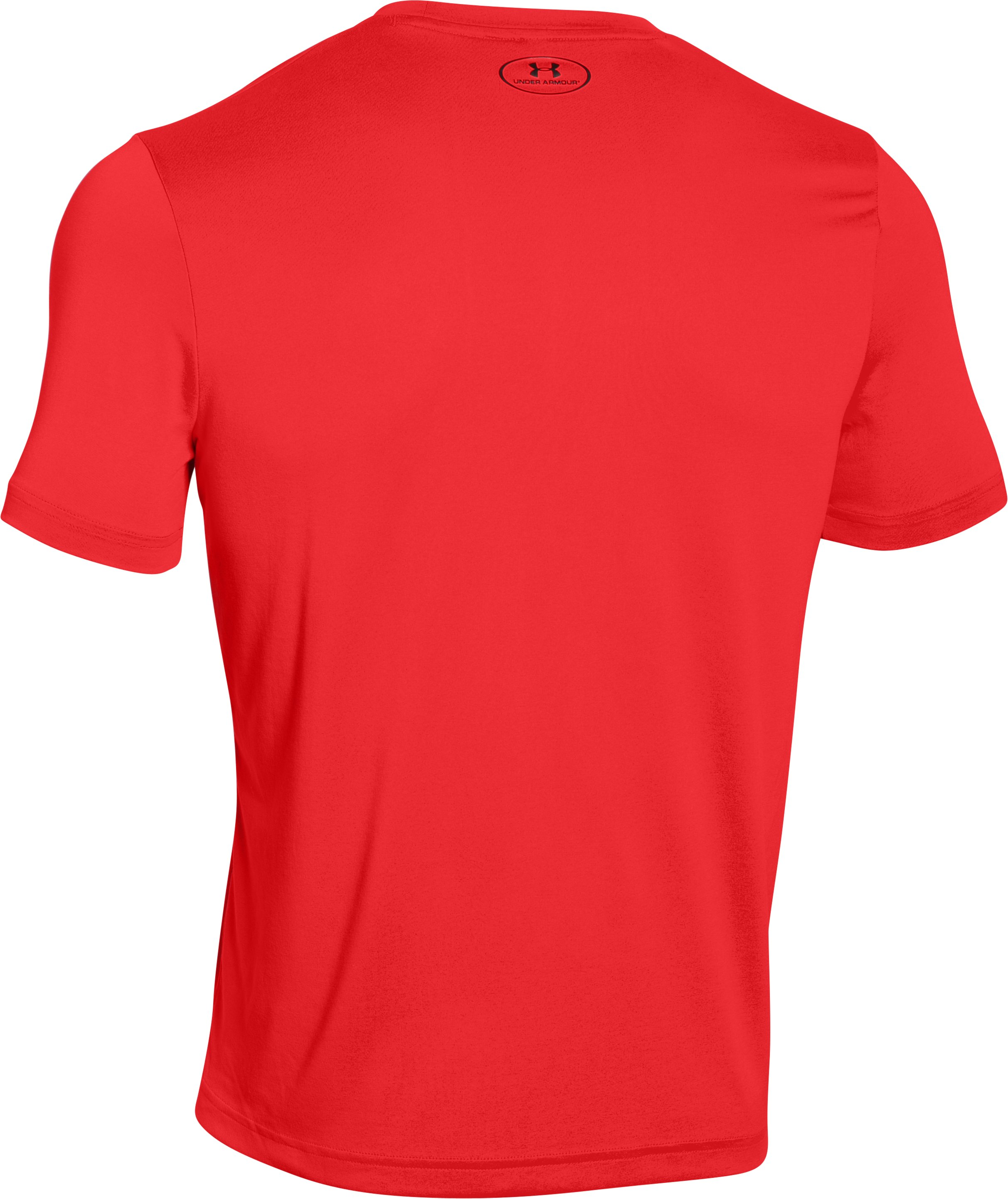 Men's UA Flow T-Shirt, ROCKET RED,