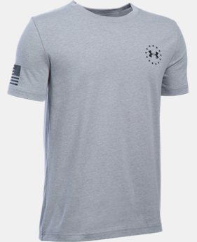 Boys' UA Freedom Flag T-Shirt LIMITED TIME: FREE SHIPPING 1 Color $19.99