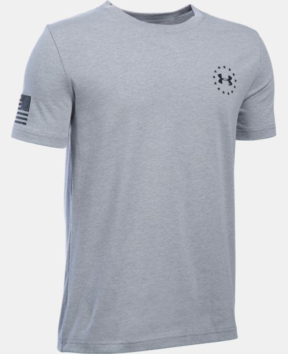 Boys' UA Freedom Flag T-Shirt  3 Colors $19.99