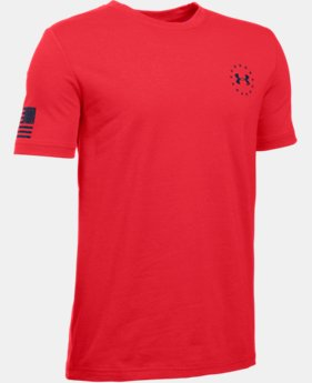 Boys' UA Freedom Flag T-Shirt LIMITED TIME: FREE SHIPPING  $19.99