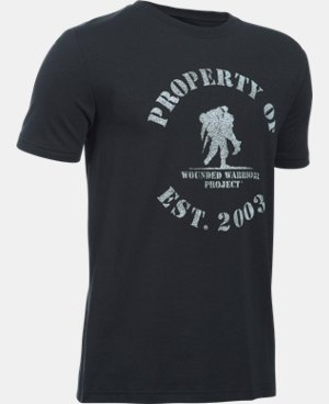 Boys' UA WWP Logo T-Shirt  1 Color $14.99