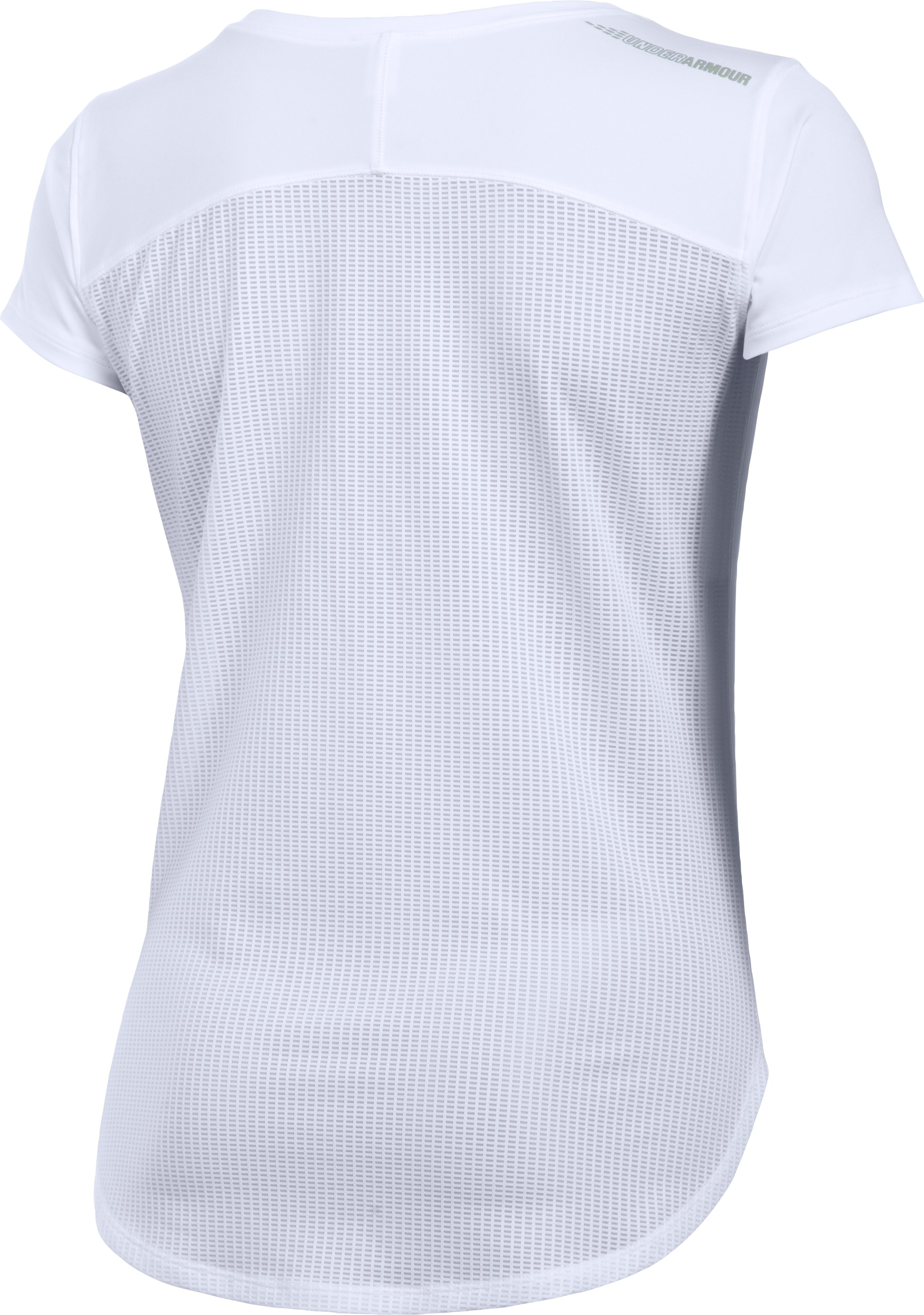 Women's UA Fly-By 2.0 Tee, White