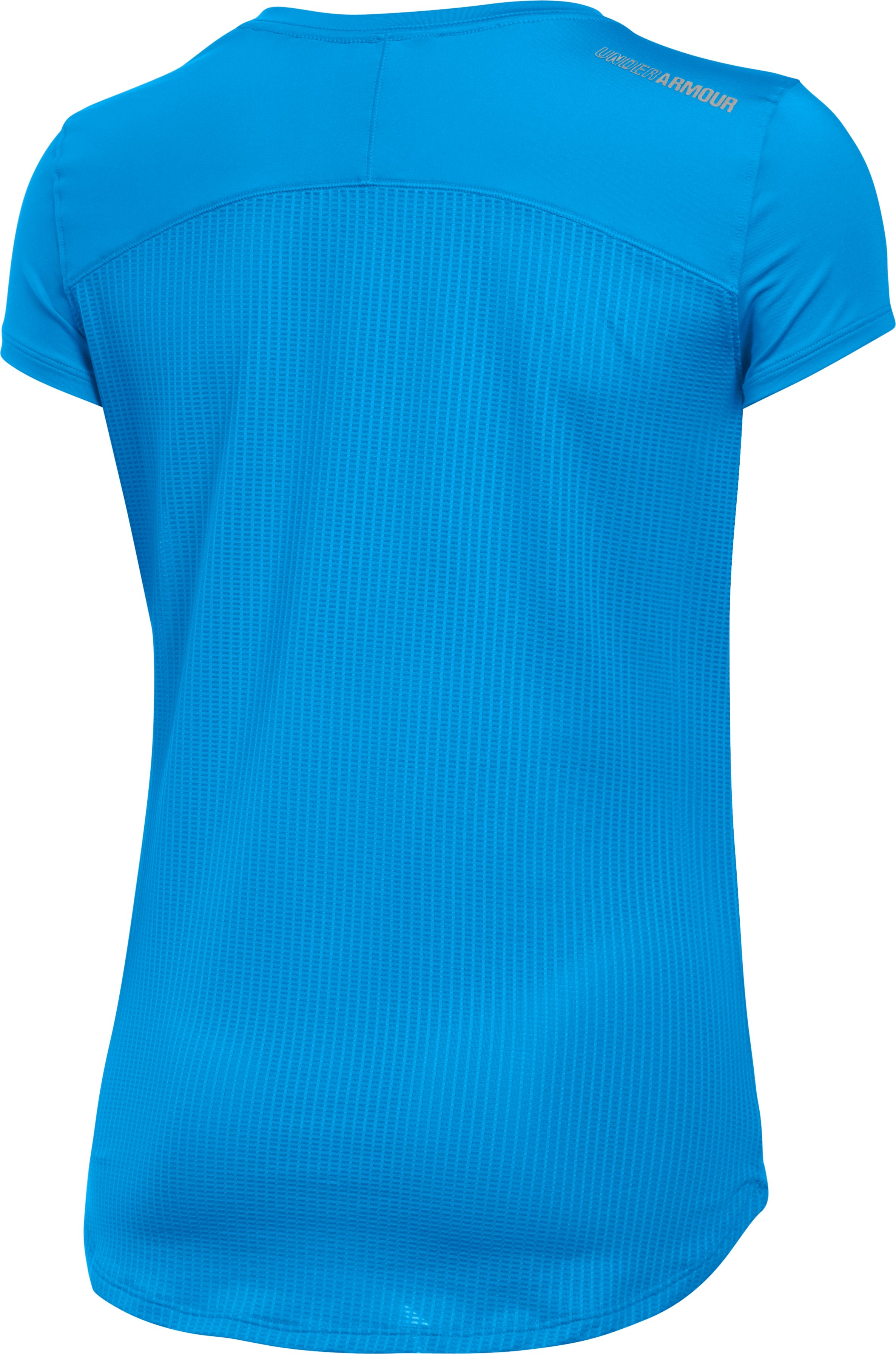 Women's UA Fly-By 2.0 Tee, Water, undefined