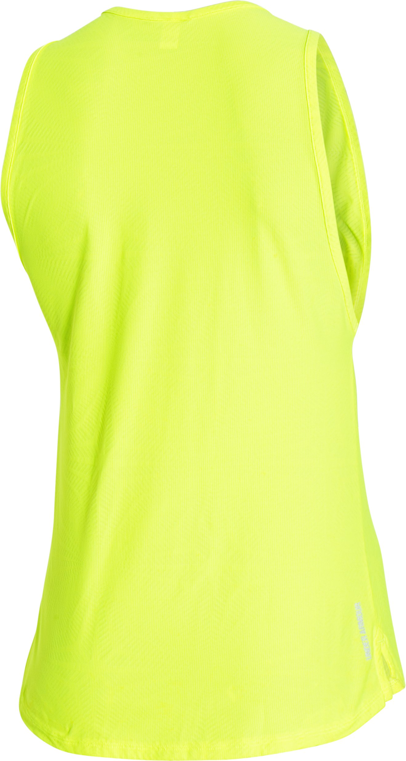 Women's UA CoolSwitch Run Tank, High-Vis Yellow,
