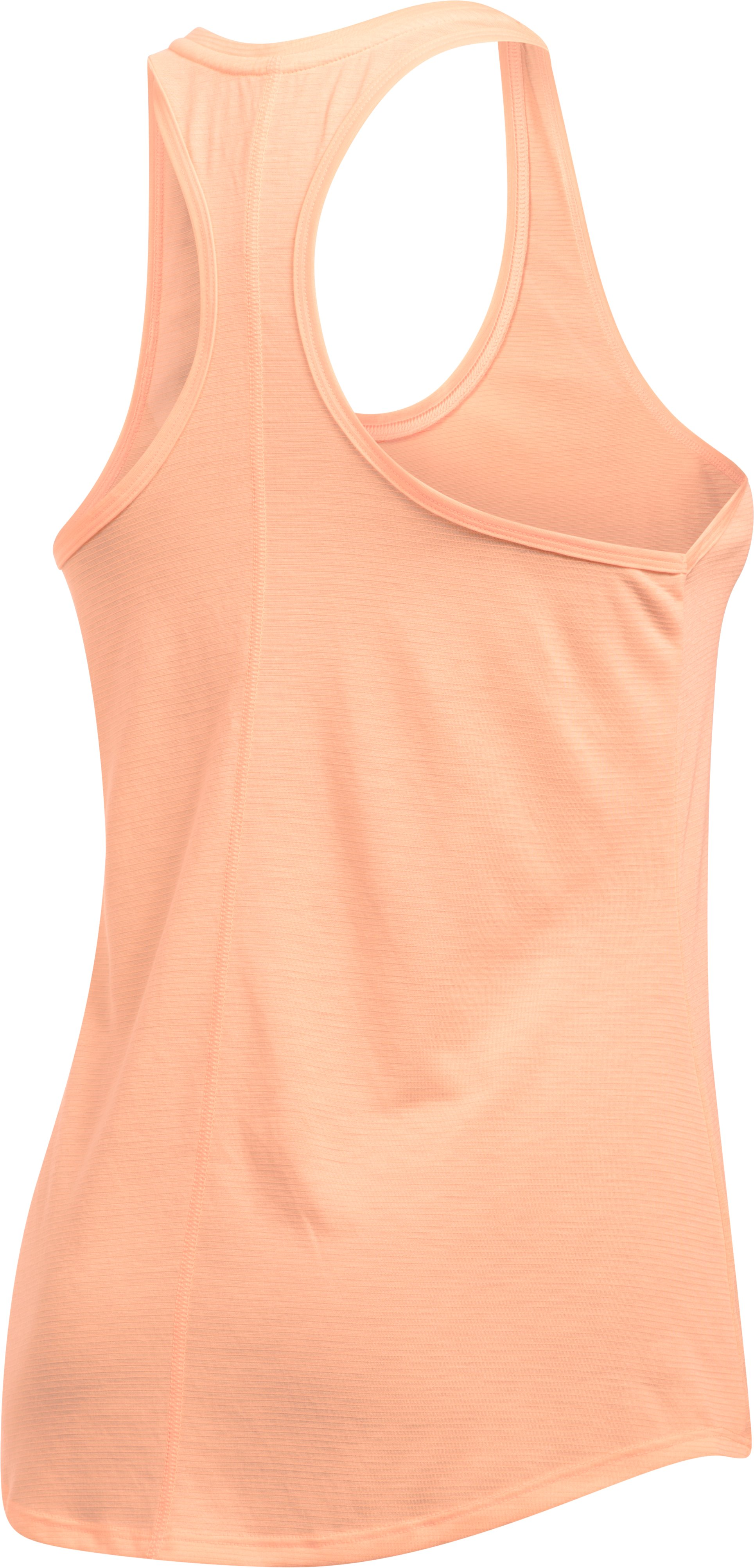 Women's UA Streaker Tank, PLAYFUL PEACH,