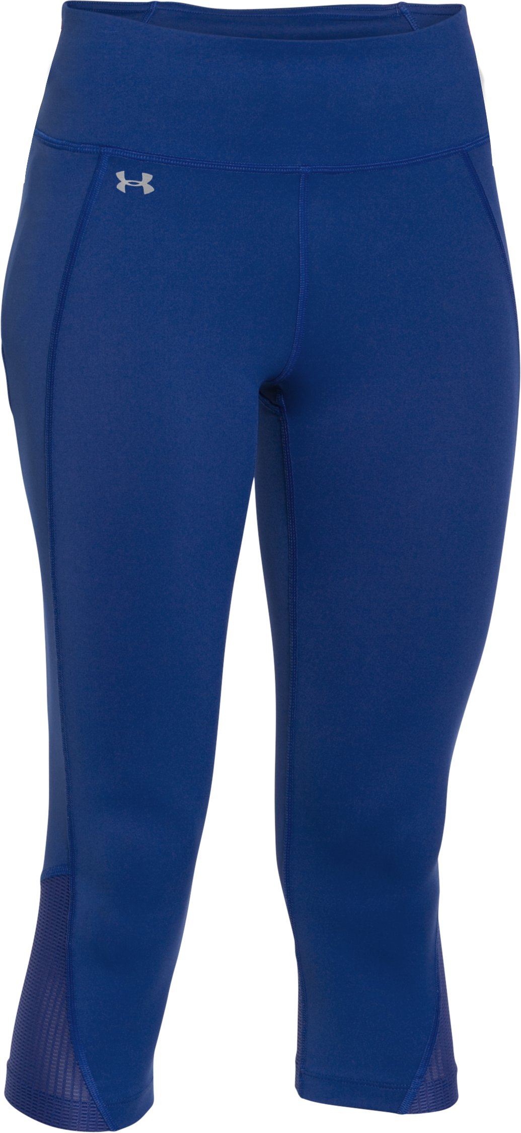 Women's UA Fly-By Run Capris, COBALT