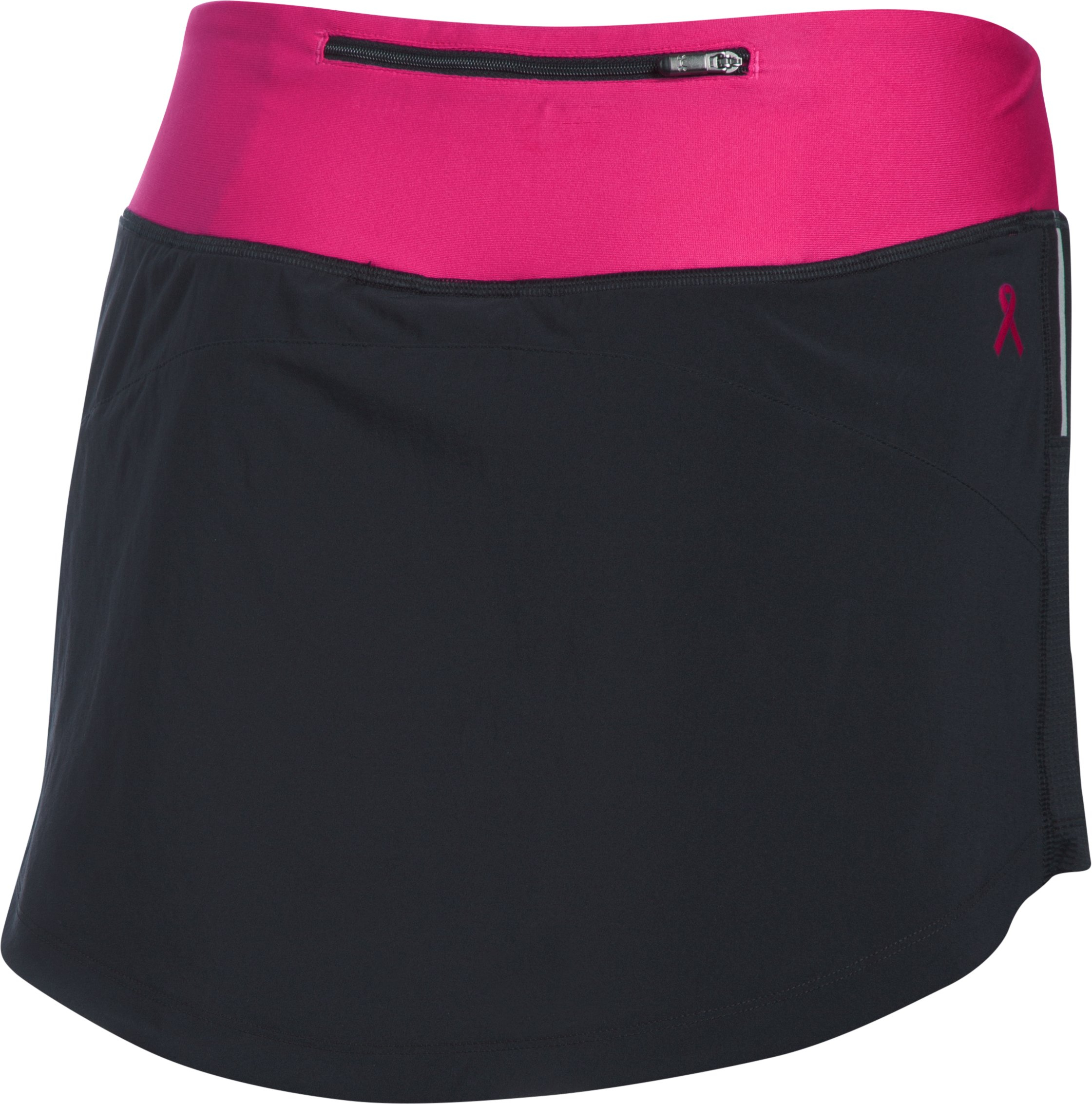 Women's UA Run True Skort, Black