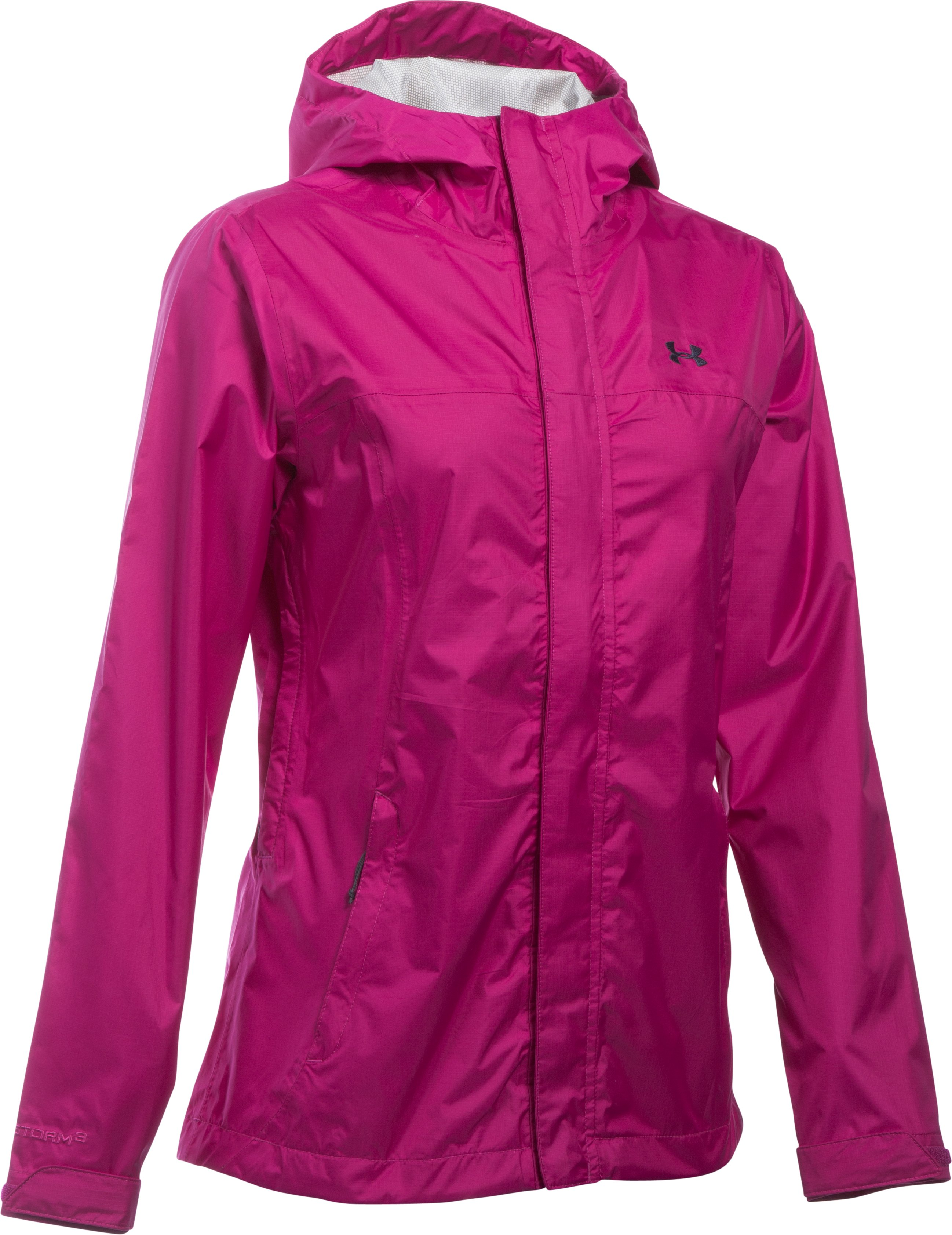 Women's UA Surge Jacket, MAGENTA SHOCK